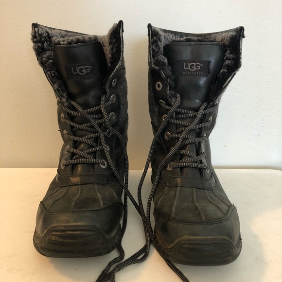 2ec78aa6a10 UGG Lace-Up Boots